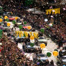 From the Archives, 1996: Over 100,000 hail Olympic heroes in Melbourne