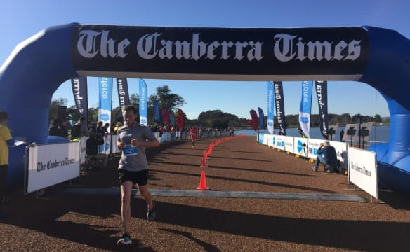 Perfect day for The Canberra Times fun run
