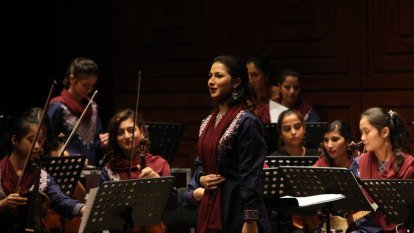 'To show the beauty of Afghanistan': All-female Afghan orchestra challenges tradition