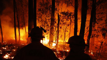 Bushfires have been near projects awarded contracts under the Emissions Reduction Fund.