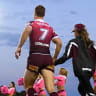 Manly chief hits phones to drum up support for final home game