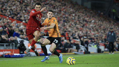 Liverpool restore 13-point lead, Coady calls out VAR