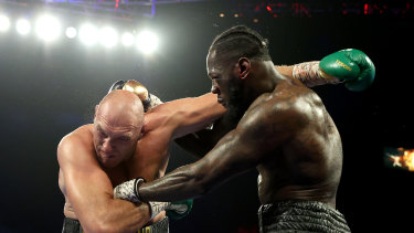 Tyson Fury and Deontay Wilder could be headed for Sydney.