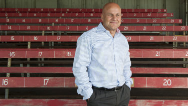 Rob Clarke, Rugby Australia's former second in command, has agreed to step in for three to six months.
