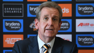 Going nowhere: Barry O'Farrell says Wests aren't going to budge.