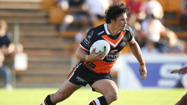 James Roberts starred for the Tigers in his first trial of the season.