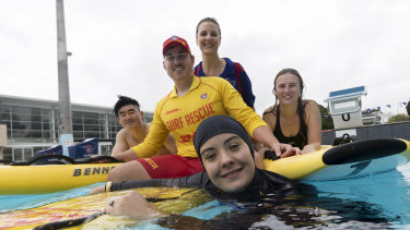 Garie Surf Life Saving Club is training lifesavers in western Sydney to increase its dwindling roster of volunteers.