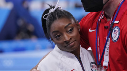Even Olympians like Simone Biles have the right to say 'I'm not OK'