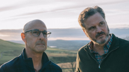 How Colin Firth and Stanley Tucci turned their real-life friendship into a love story