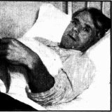 'Horace Ratliff in bed at Yaralla Hospital' The Sun, July 20, 1941