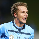 Trent Buhagiar will get first crack at filling the strike vacancy left by Adam Le Fondre's departure, but Bobo says he's not in Sydney to play second fiddle to anyone.