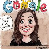 Google's Melanie Silva was heavily pregnant when she faced a Senate hearing last week.
