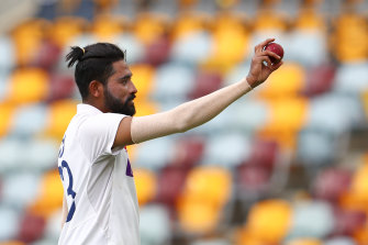 A star is born: India's Mohammed Siraj.