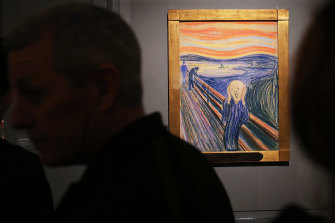 Leon Black loaned The Scream to the Museum of Modern Art.