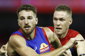 Moving forward? Marcus Bontempelli is open to a stint up front.