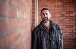Adam Thompson's stories are informed by his ancestry and his work with the Aboriginal community.