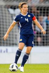 Canberra United have signed Scotland captain Rachel Corsie.