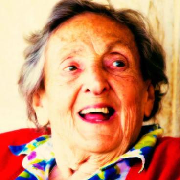Eleanor Witcombe in her 90s.