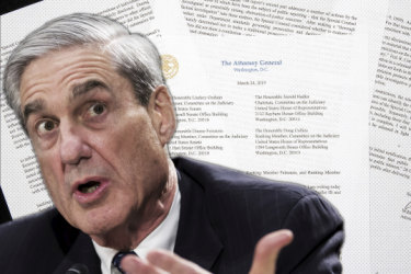Weeks ago, Mueller made a revelation those supervising his work were not expecting