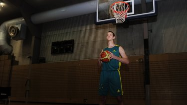 Darcy Malone in his junior days at the AIS.
