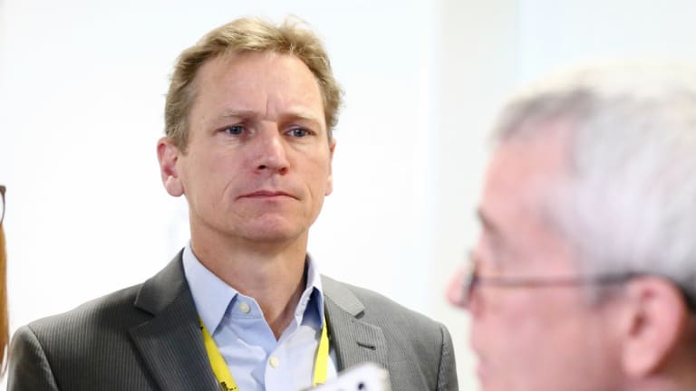 The ABC's political editor Andrew Probyn.