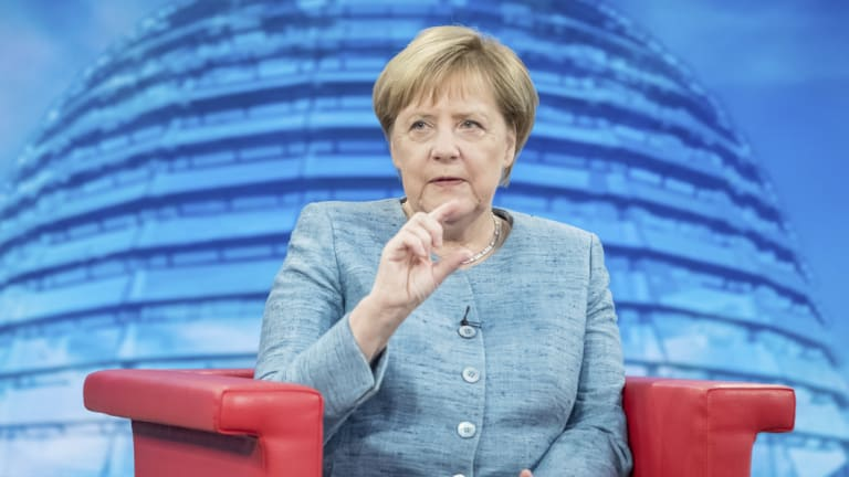 German Chancellor Angela Merkel is back in the international political fray with a busy schedule.