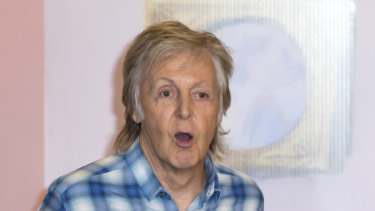 Paul McCartney has recorded a lost John Lennon song with Ringo Starr.