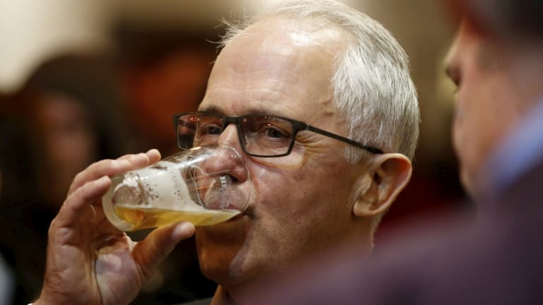 Malcolm Turnbull copped some abuse while getting a drink in Brisbane. (File image)