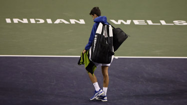Djokovic was the top seed.