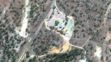 A Google Maps view of Tresswell State School.