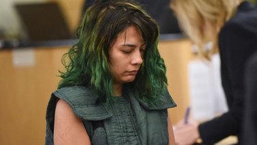 Emily Javier in court this week.