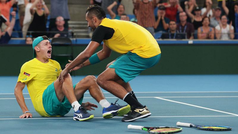 Injuries force Kyrgios, de Minaur of Davis Cup clash against Brazil