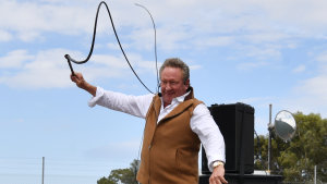 Andrew Forrest cracked the whip on Fortescue shares this time last year.