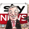 Sky's Andrew Bolt is free to work from home.