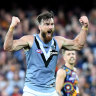 Port Adelaide show up Crows in Showdown