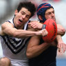 Melbourne bounce back to overwhelm undermanned Dockers