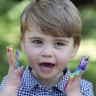 Prince Louis, now 2, joins the rainbow wave to brighten up lockdown