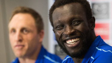 Stepping things up: Majak Daw.
