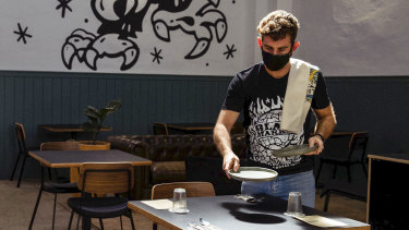Angus Nicol says he cannot wait to finally fully open his new coffee venue in Marrickville on October 11.