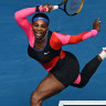 Serena Williams' one-legged catsuit a nod to another sporting great