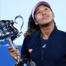 Naomi Osaka: 'I forgot to smile'