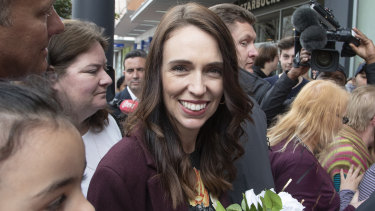 Jacinda Ardern looks set to win New Zealand's election on Saturday.