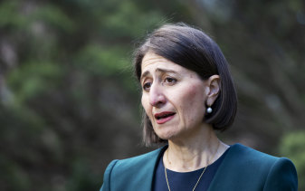 """I'm human and I stuffed up in my personal life."" NSW Premier Gladys Berejiklian gave a press conference to explain her decisions immediately after giving evidence to ICAC."