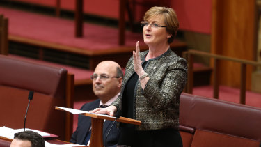 Liberal senator Linda Reynolds has called for a referendum.