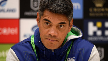 Sacked Warriors coach Stephen Kearney.