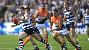 Patrick Dangerfield could face match review scrutiny following the Cats loss to GWS.