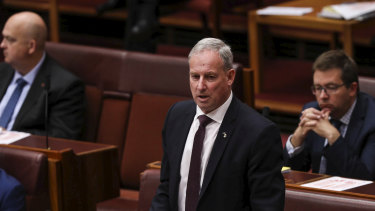 Aged Care Minister Richard Colbeck apologised in the Senate for not knowing how many residents and staff had died from outbreaks.