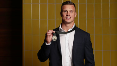 Deserved winner ... Jack Wighton