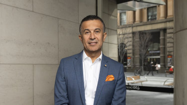 Telstra's head of enterprise business Michael Ebeid is leaving the company.