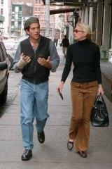 John F Kennedy and Carolyn Bessette Kennedy in New York in 1997.